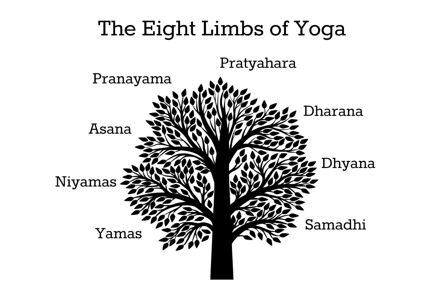 The eight limbs of yoga: Yamas and niyamas